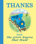 Thanks from the Little Engine That Could book
