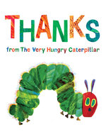 Thanks from the Very Hungry Caterpillar book