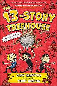 The 13-Story Treehouse book