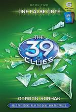 The 39 Clues: One False Note book
