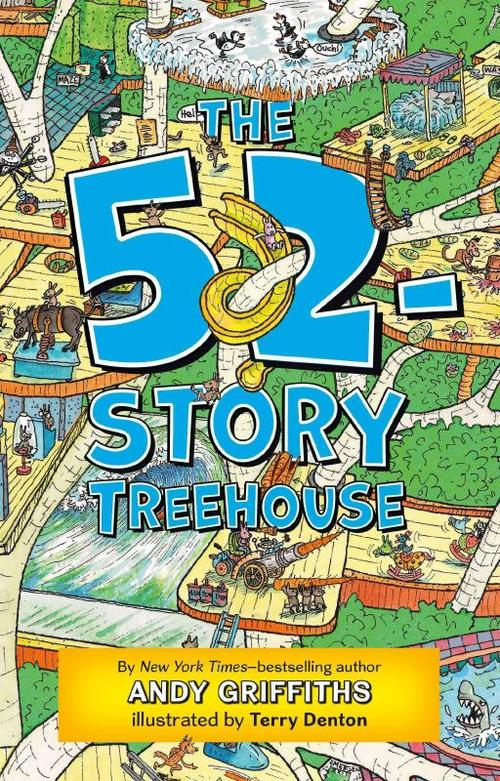 The 52-Story Treehouse book