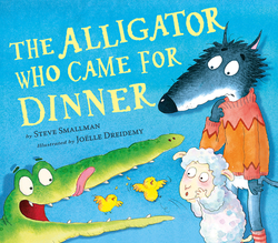 The Alligator Who Came for Dinner book