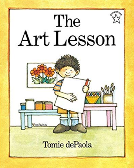 The Art Lesson book