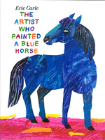 The Artist who Painted a Blue Horse book