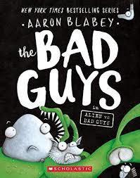 The Bad Guys in Alien Vs Bad Guys book