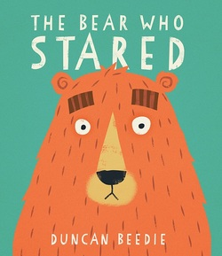 The Bear Who Stared Book
