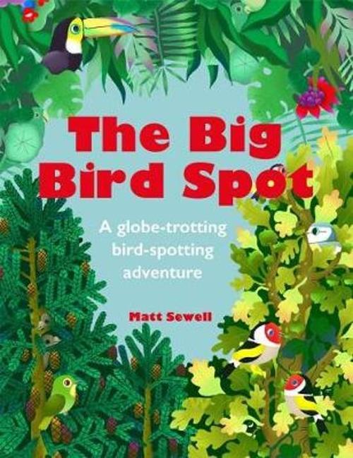 The Big Bird Spot book