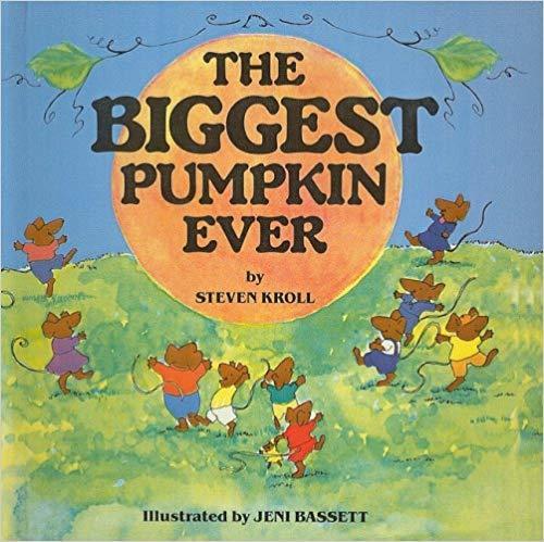 The Biggest Pumpkin Ever book