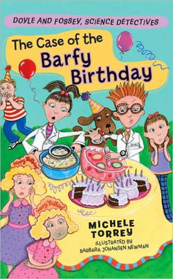 The Case of the Barfy Birthday book