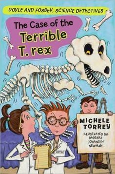 The Case of the Terrible T- Rex Book