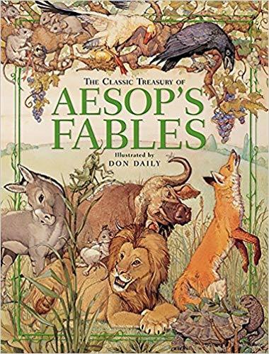 The Classic Treasury of Aesop's Fables book