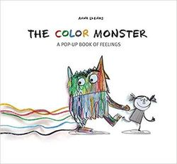 The Color Monster: A Pop-Up Book of Feelings book