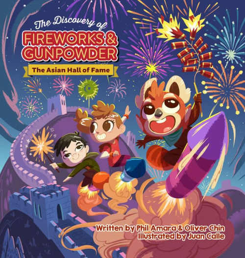 The Discovery of Fireworks and Gunpowder book