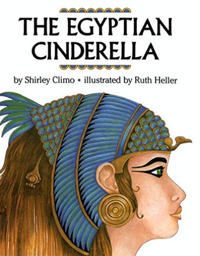 The Egyptian Cinderella book