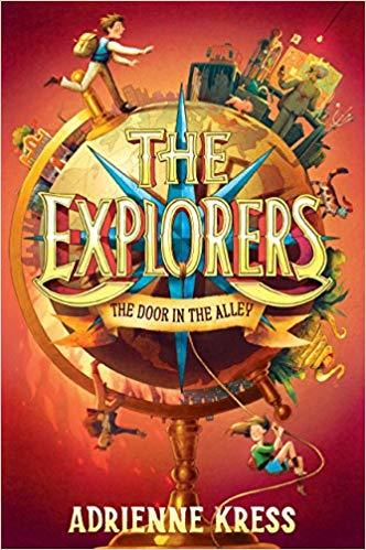 The Explorers: The Door in the Alley Book
