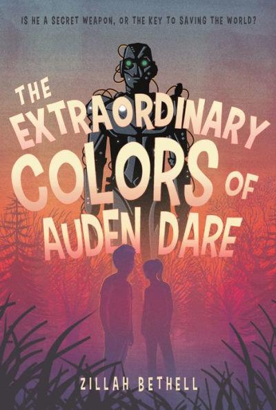 The Extraordinary Colors of Auden Dare book