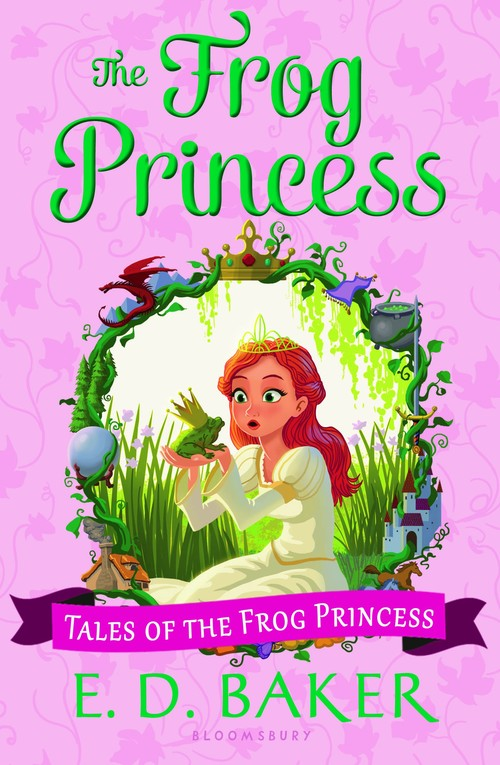 The Frog Princess book