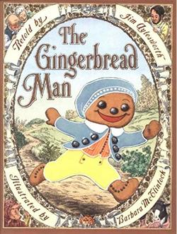 The Gingerbread Man book