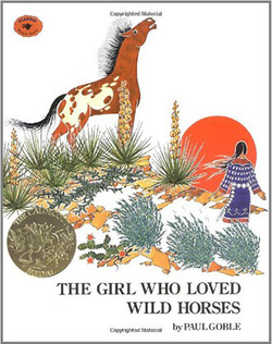 The Girl Who Loved Wild Horses book