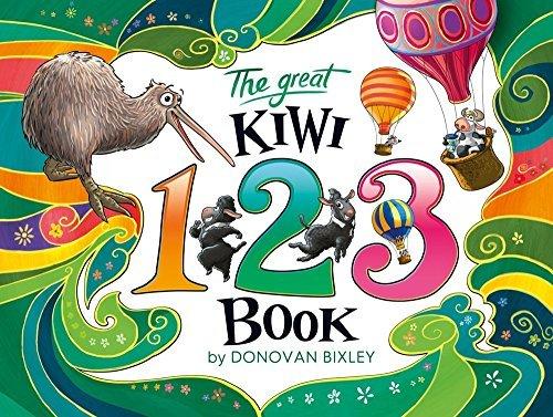 The Great Kiwi 123 Book book
