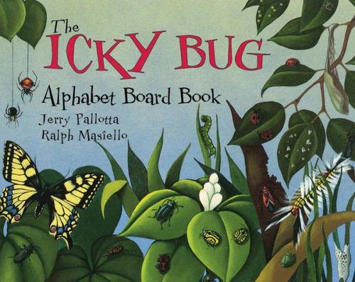 The Icky Bug Alphabet Board Book book