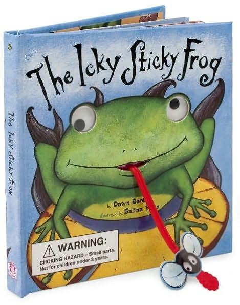 The Icky Sticky Frog book