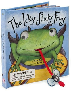 The Icky Sticky Frog book