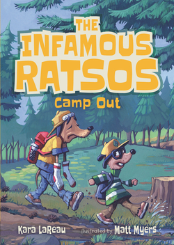 The Infamous Ratsos Camp Out book