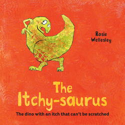 The Itchy-Saurus book