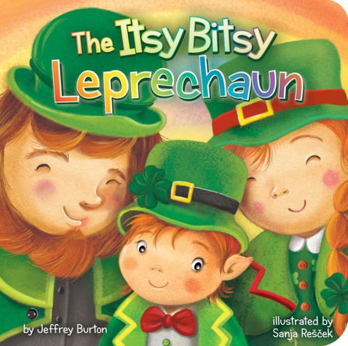 The Itsy Bitsy Leprechaun book