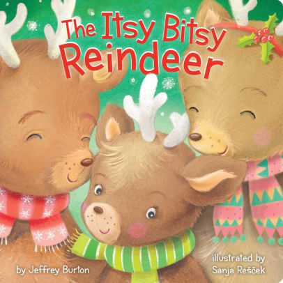 The Itsy Bitsy Reindeer book