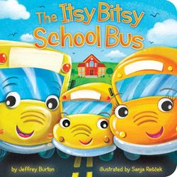 The Itsy Bitsy School Bus book