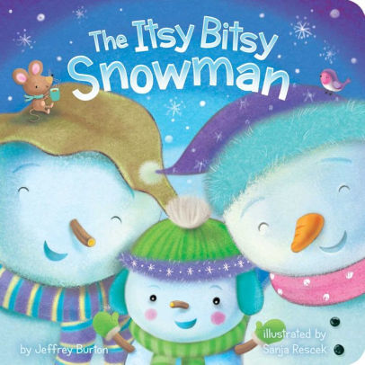 The Itsy Bitsy Snowman Book