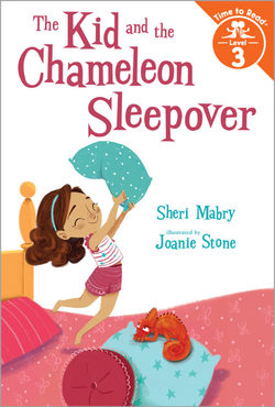The Kid and the Chameleon Sleepover (Time to Read, Level 3) book