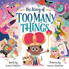 The King of Too Many Things book
