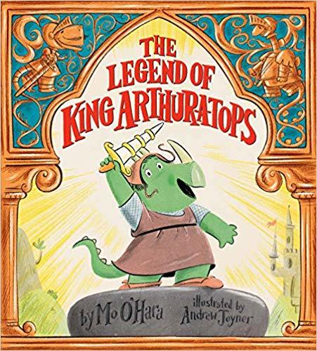 The Legend of King Arthur-a-tops book
