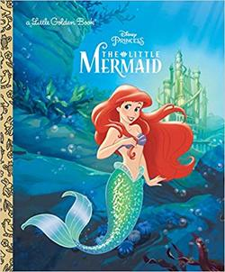 The Little Mermaid Disney Princess book