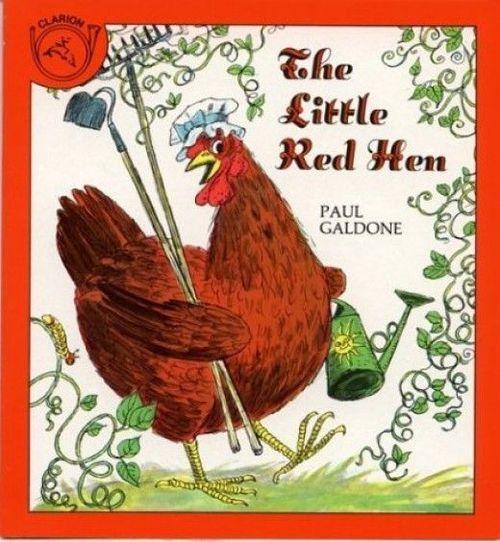 The Little Red Hen book