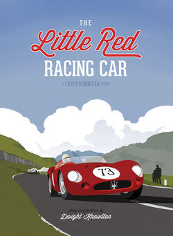 The Little Red Racing Car book