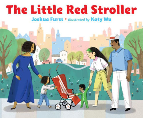 The Little Red Stroller book