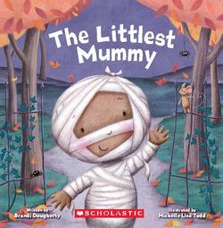 The Littlest Mummy book