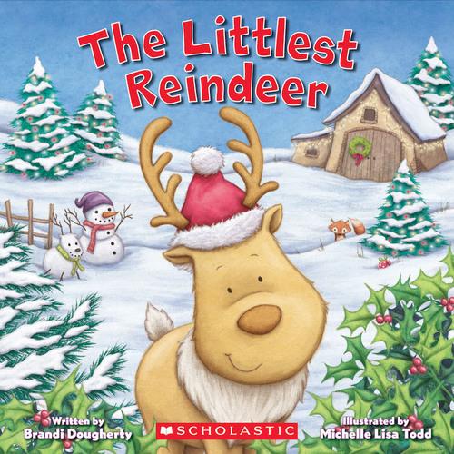 The Littlest Reindeer book