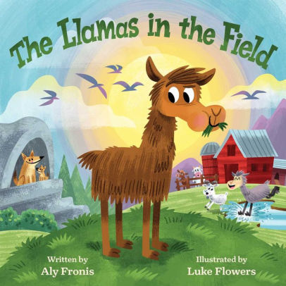The Llamas in the Field book