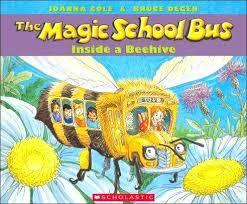The Magic School Bus Inside a Beehive book