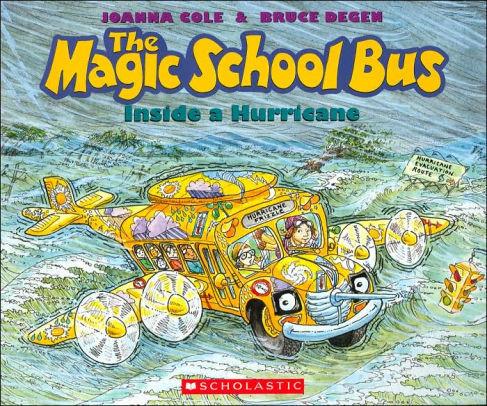 The Magic School Bus Inside A Hurricane book