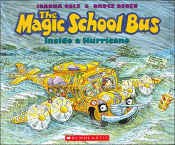 The Magic School Bus Inside A Hurricane book