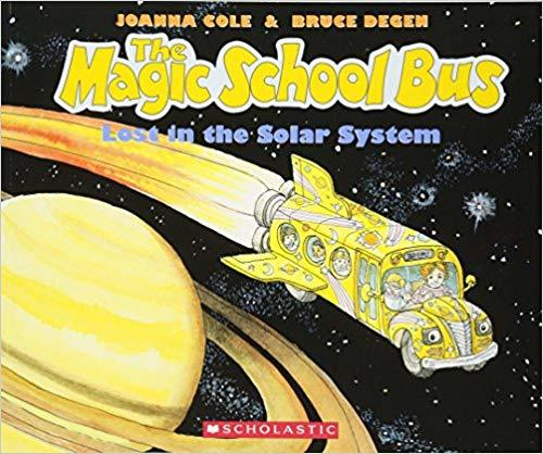The Magic School Bus Lost in the Solar System book