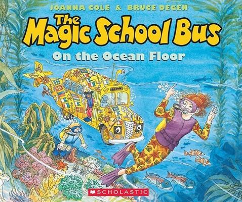 The Magic School Bus on the Ocean Floor book
