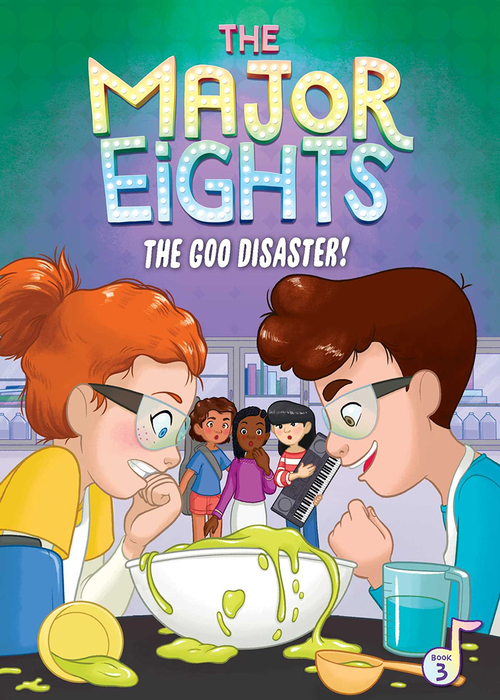 The Major Eights 3: The Goo Disaster! book