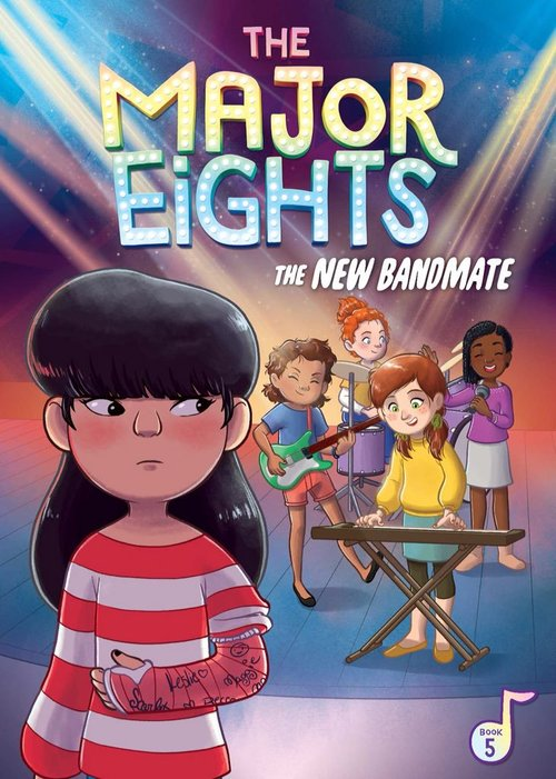 The Major Eights 5: The New Bandmate book